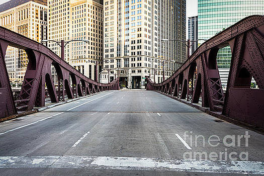 Paul Velgos - Franklin Orleans Street Bridge Chicago Loop