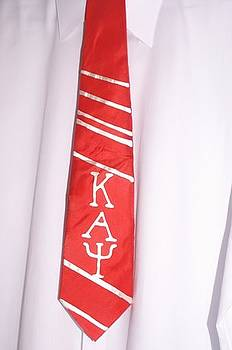 Fraternity tie by Christine  Davis