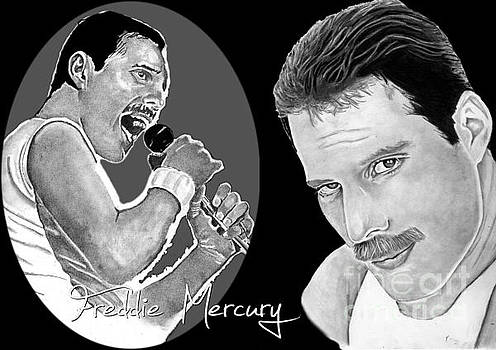 Freddie Mercury by Bill Richards