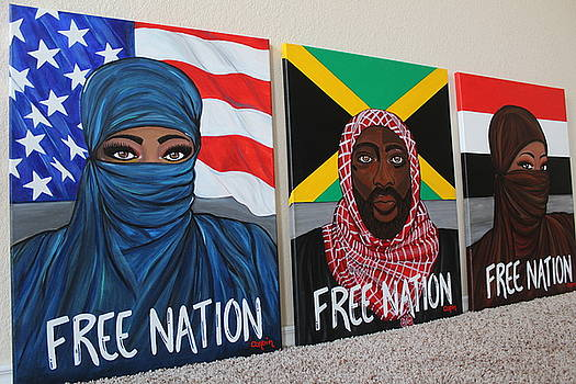 Free Nation Series by Art By Naturallic