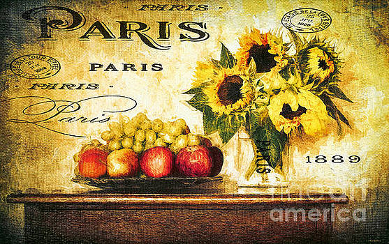 French Country Sunflowers by Tina LeCour