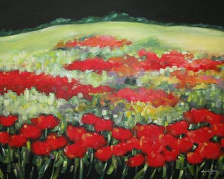 French Poppies by Marsha Young