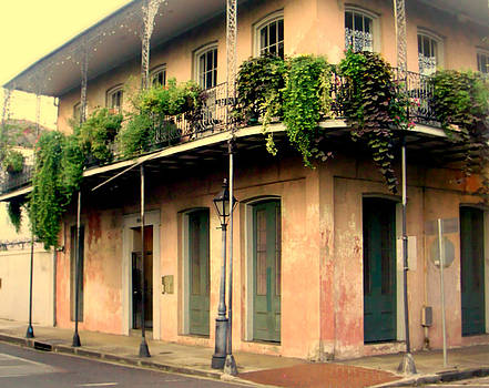 French Quarter Balcony by Ted Hebbler