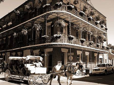 French Quarter Carriage Ride by Shawn McElroy