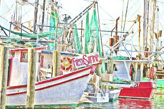 Scott Pellegrin - Fresh Shrimp Dockside