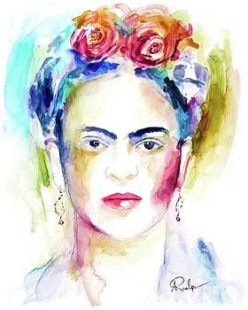 Frida Kahlo by Andrea Realpe