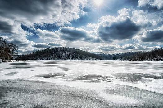 Frozen Lake by Thomas R Fletcher