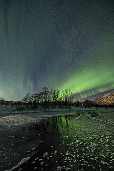 Frozen River by Frank Olsen