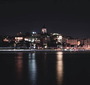 Dayton ODonnell - Galata Tower at Night
