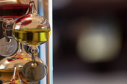 Jeremy Lavender Photography - Galileo thermometer