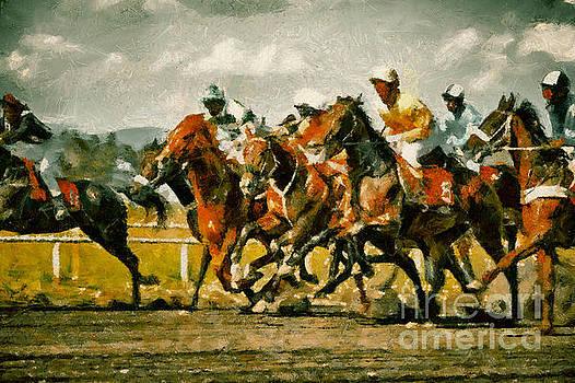 Dimitar Hristov - Gamble horses Race horses galloping
