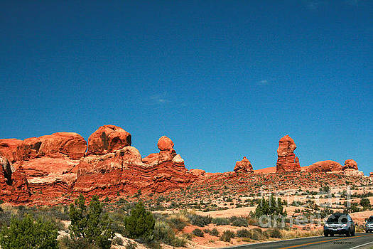 Corey Ford - Garden of Eden Rock Formations, Arches National Park, Moab Utah