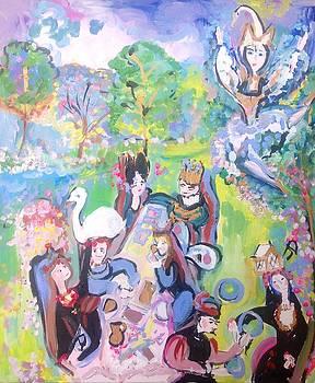 Garden Party  by Judith Desrosiers