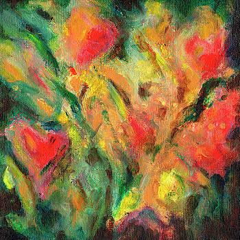 Garden Tulips by Daniel Ferguson