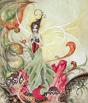 Garnet Faery by Ora  Moon