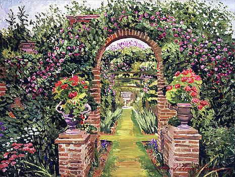 Gateway Of Brick by David Lloyd Glover