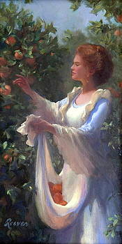 Gathering Peaches by Diane Reeves