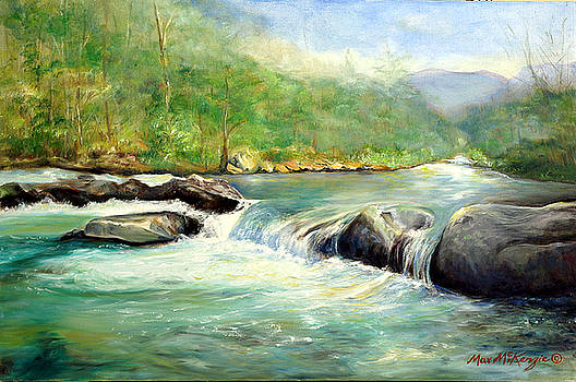 Gatlinburg River by Max Mckenzie