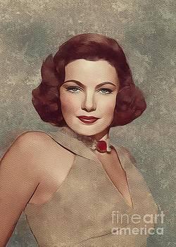 Mary Bassett - Gene Tierney, Hollywood Legend