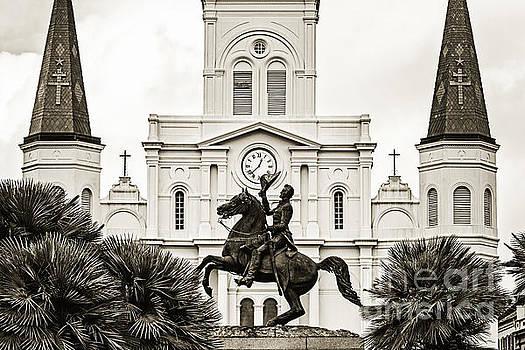 Scott Pellegrin - General Andrew Jackson - sepia