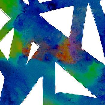 Geometric abstract  by Georgia Pistolis