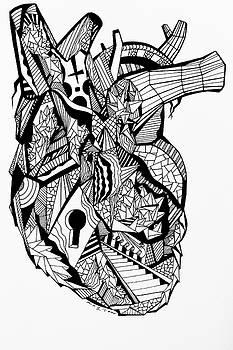 Geometric Heart by Kenal Louis