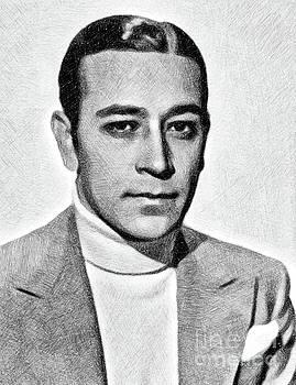John Springfield - George Raft, Vintage Actor by JS