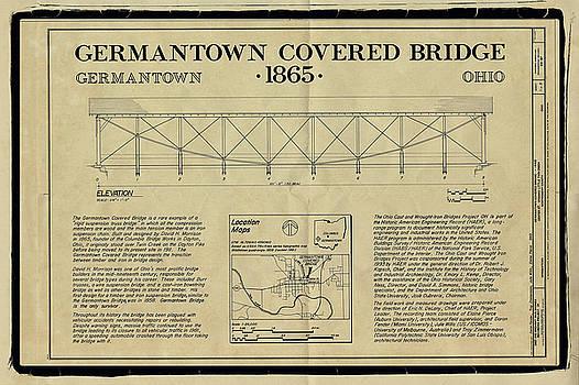 Germantown Covered Bridge by Jack R Perry