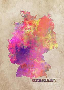 Justyna Jaszke JBJart - Germany map
