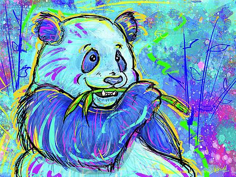 Giant Panda by Morgan Richardson