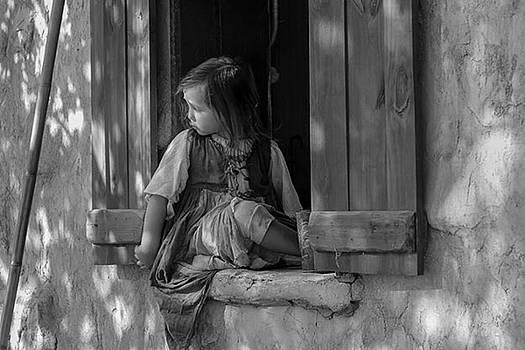 Melinda Martin - Girl in window