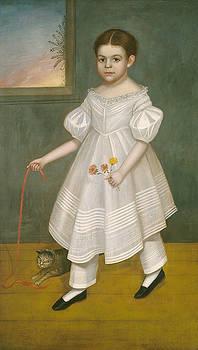 Joseph Goodhue Chandler - Girl with Kitten