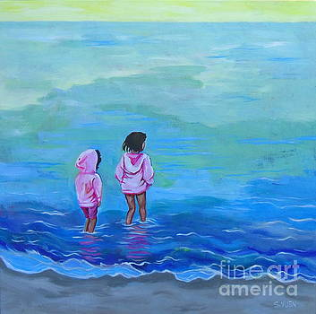 Girls in Pink by Sandra Yuen MacKay
