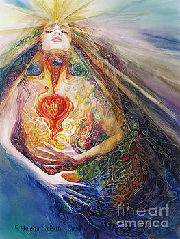 Goddess Light Within by Helena Nelson - Reed