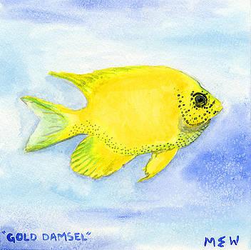 Gold Damsel by Megan Welcher
