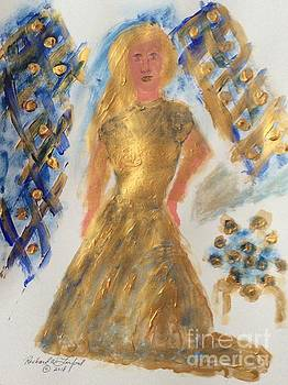 Golden Bride six by Richard W Linford