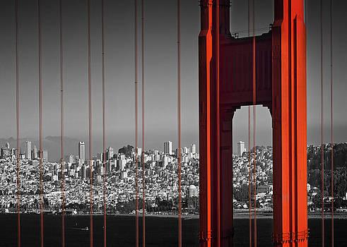 Golden Gate Bridge Panoramic by Melanie Viola