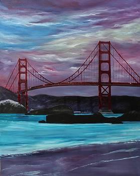 Golden Gate by Julie Lourenco