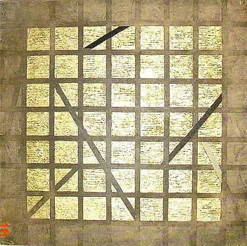 Golden Gridwork by Bernard Goodman