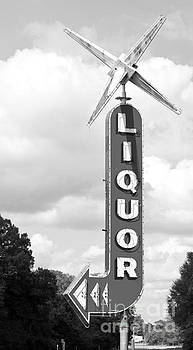 Googie Architecture Liquor Sign by ELITE IMAGE photography By Chad McDermott