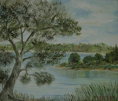 Gouvia Bay  by Anna Witkowska