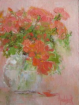 Graceful Geraniums by Barbara Andolsek