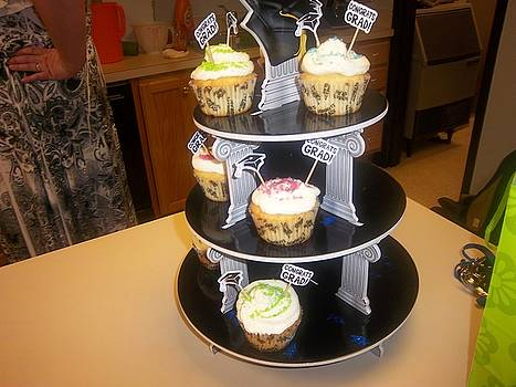 Graduation Cupcake by Scarlett Stephenson