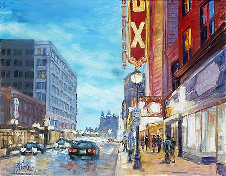 Grand Boulevard Saint Louis by Irek Szelag