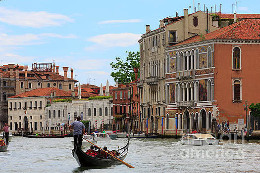 Grand Canal in Venice Italy by Louise Heusinkveld