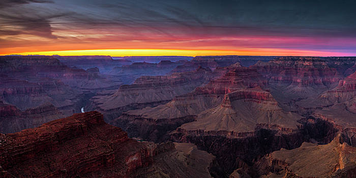 Grand Canyon Evening by Andrew Soundarajan