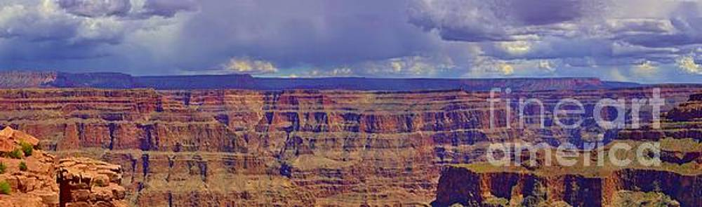 Grand Canyon Panorama by Steven Liveoak