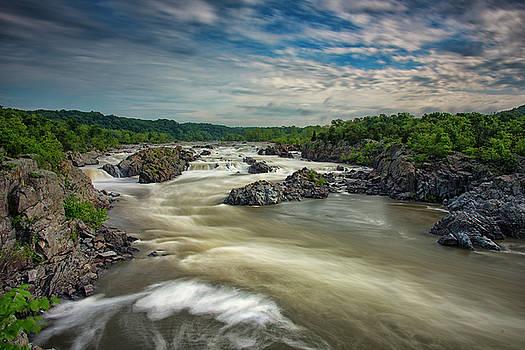 Great Falls Park by Dennis Clark