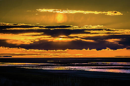 Great Salt Lake sunset by Bryan Carter