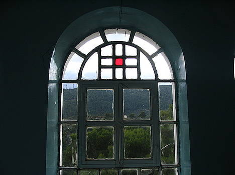 Yvonne Ayoub - Greece Church Window